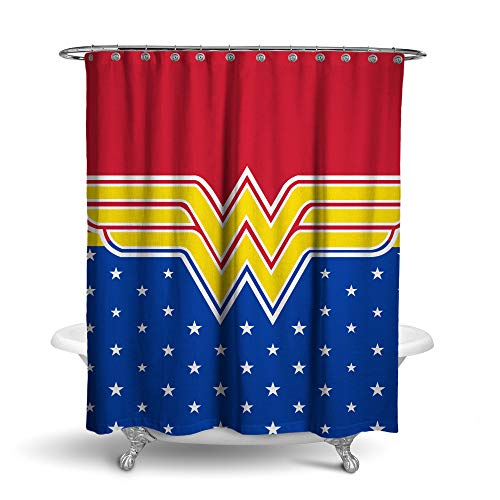 Robe Factory DC Comics Wonder Woman Stars Duschvorhang