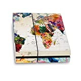 Head Case Designs Officially Licensed Mark Ashkenazi Map of The World Art Mix Vinyl Sticker Skin Decal Cover Compatible with Sony PS4 Console