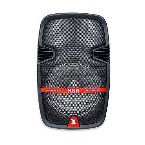 Kaiser Kit de Bafle Profesional Recargable con Stand de 12″. 25,000W PMPO