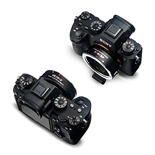 VILTROX EF-NEX IV High Speed Electric Lens Mount Adapter Ring AF Auto Focus for Canon EF/EF-S Lens for Sony A9 A7 A7R mk2 A6300 A6500 with USB CDAF PDAF Switch