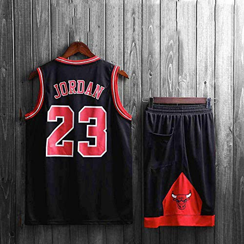 LHDDD NBA Basketball Jersey NBA Basketball Uniform Anzug Herren New Jersey NBA-Ballanzug atmungsaktive Feuchtigkeit Sommerjacke und Hosenanzug Sommer Trikots