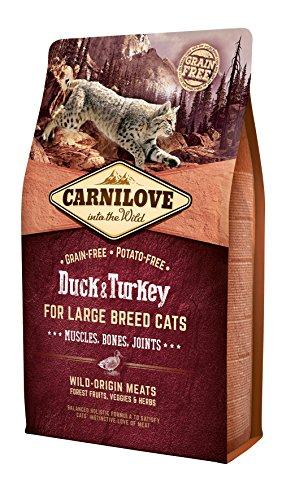 Carnilove Katzenfutter, große Größe, Ente und Pute, 2 kg