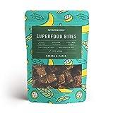 THE PROTEIN WORKS Bocaditos Superalimentos, 100% Natural para veganos, Plátano y Cacao, 140 g