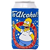 Silver Buffalo The Simpsons Homer to Alcohol Beer Can Hugger