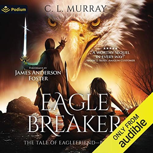 Eaglebreaker audiobook cover art