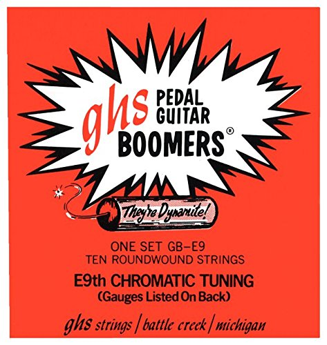 ghs GB E9 NICKEL P.S Pedal Steel Tune String