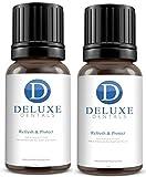 Deluxe Dentales Refresca & Protección Fuerza Maxima De Acción Rápida 100% Puro Botánico Aceites Natural Remedio para los dientes y Encías,Funciona como un Pasta de dientes,Enjuague bucal - 30ml