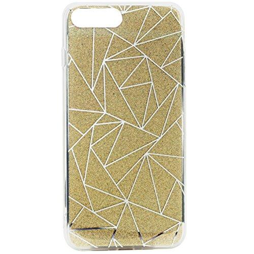 Omenex–Carcasa Party para iPhone 7Plus/8Plus Oro
