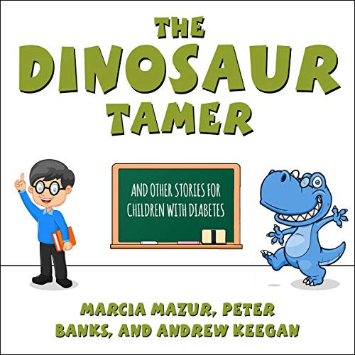 The Dinosaur Tamer audiobook cover art