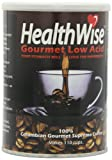 HealthWise 100% Colombian Supremo, Low Acid Ground Coffee, 12-Ounce Cans (Pack of 3)