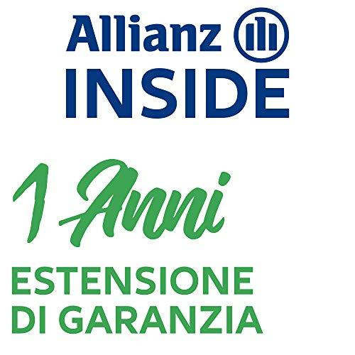 Allianz Inside, Il Valore della Copertura assicurativa Estensione di Garanzia con validità di Un Anno per Attrezzature Sportive è compreso tra 100,00 € e 149,99 €