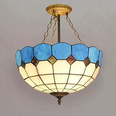 Carl Artbay GD Tiffany Style Anti-Chandelier, Lámpara de ...