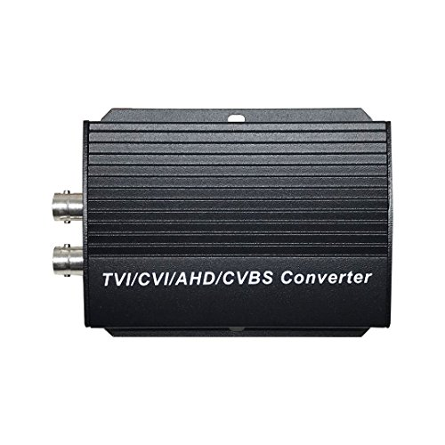 SVD BNC Coaxial to HDMI Converter Adapter for Security Cameras DVRs TVI/CVI/AHD/Analog Input Supports 720P/1080P