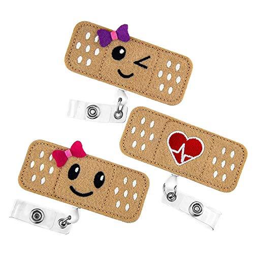 bobotron - Confezione da 3 pezzi con distintivo RN - Toppa per infermiera - regalo perfetto per donne