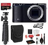 Samsung NX3300 Mirrorless Digital Camera Essential Bundle - San Disk Extreme 64gb Micro SD + More