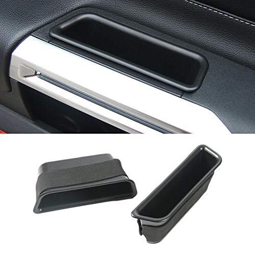 LINKLANK 1 Paar Armlehne Container Tür Aufbewahrungsbox Auto Tür Aufbewahrung Box Auto Tür Innenraum Aufbewahrungsbox Tür Aufbewahrung Handy Münzbehälter Auto Aufbewahrung Aufbewahrung Aufbewahrung