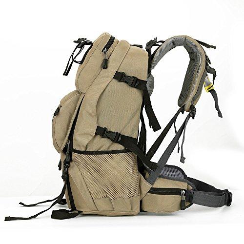 Outdoor CQL Rucksack Männer Reisetasche im Freien Unterstützung Knapsack Großvolumige Tourist Rucksack Schultasche Bergsteigen Tasche 40L Fashion