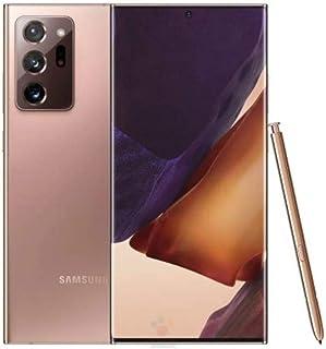 هاتف سامسونج جالكسي نوت 20 الترا، لون برونزي داكن، ذاكرة داخلية 256 جيجا، ذاكرة رام 12 جيجا، الجيل الخامس، اصدار سناب دراغون