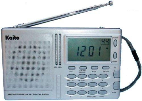 Kaito KA2031 AM/FM NOAA Wearther Radio with Alert ...