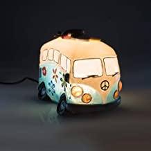 MDI Australia Blue Cartoon Hippie Combi Van LED Table Lamp