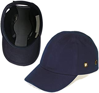Blue Baseball Bump Cap - Lightweight Safety hard hat head protection Cap by Lucent Path