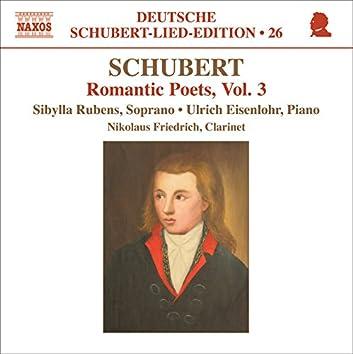 Schubert: Lied Edition 26 - Romantic Poets, Vol. 3