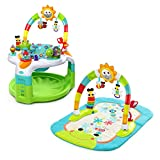 Bright Starts Laugh & Lights - Centro de actividades y tapete 2-in-1