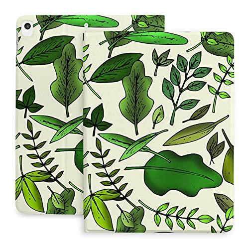 Sweet grape Funda para iPad 2020 de 10,2 pulgadas con lápiz, diseño de árbol de follaje de bosque de hierbas otoñales, soporte para la parte posterior de la cubierta de cuerpo completo de TPU