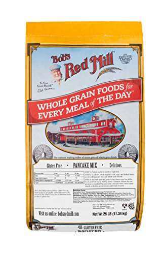 Bob#039s Red Mill Gluten Free Pancake Mix 25 Pound