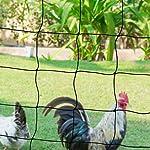 IDMarket - Kit clôture Filet à Poules 24 M avec Porte 9 piquets Double Pointe #2