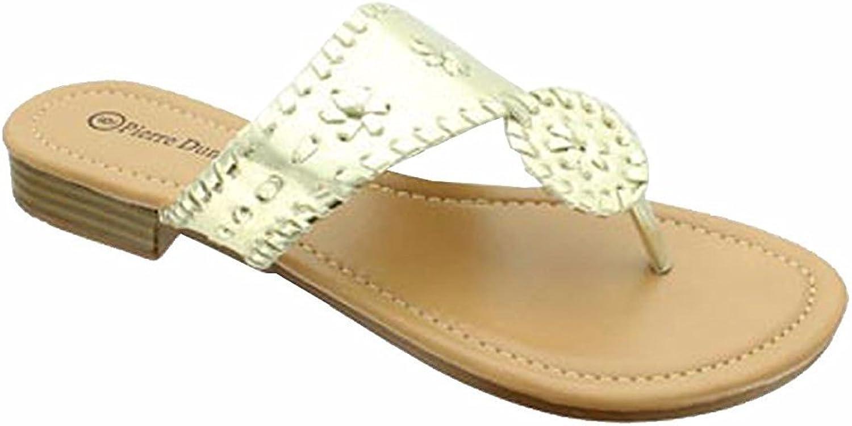 Pierre Dumas Womens pinktta-1 Thong Fashion Sandal
