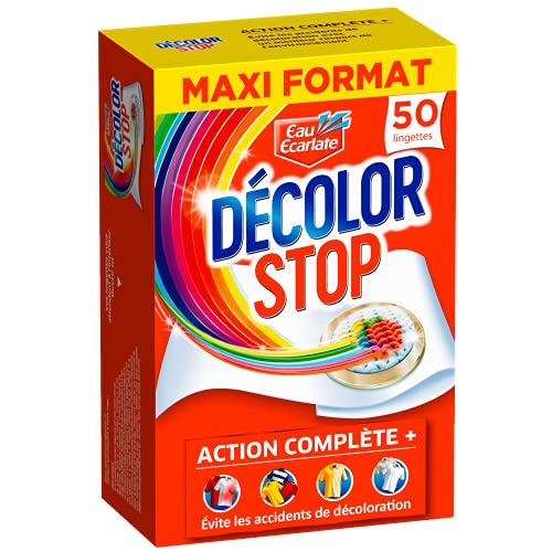 Décolor Stop Action complète – 50 (Lingettes) – Anti-décoloration