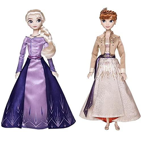 2 Stks / Set 30 Cm Speelgoed Frozen 2 Elsa En Anna Prinses Pop Speelgoed, Olfa Cijfers Meisje Collectie Poppen, Leuke Frozen Action Figure Kids Geschenken