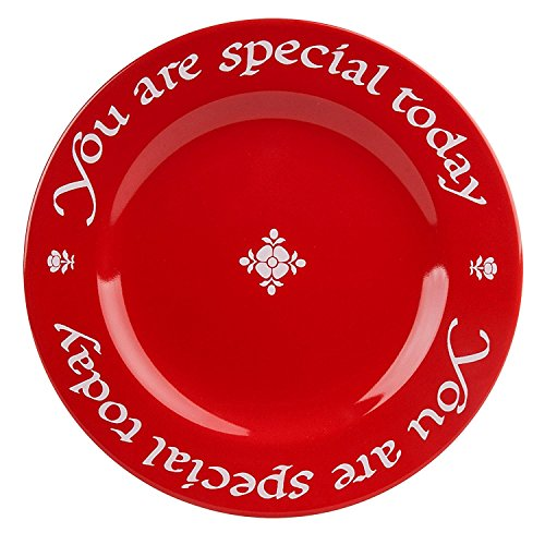 Waechtersbach, Red Special Today Plates, Giftboxed, Set of 2