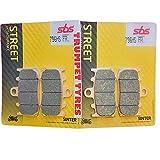 K 1300S K1300S 09 10 11 12 13 14 15 SBS Rendimiento Frente Fast Road Sinterizadas Sinterizados Pastillas de Freno Set Original OE Calidad 796HS