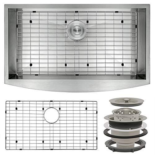 Perfetto Kitchen and Bath Handmade Kitchen Sink...