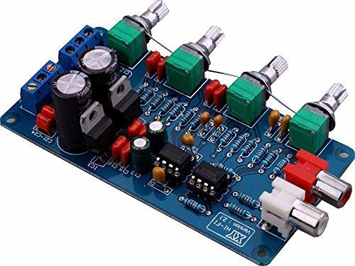 NE5532 Pre Amp Volume Control Board Ton klaar Board Kit 10 keer DUAL AC 15 V originele HiFi Ton instelplaat Audio versterker