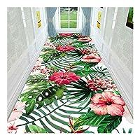 CnCnCn 3Dカーペット階段ベッドルームリビングルームの廊下の入り口ノンスリップはカットすることができます (Color : A, Size : 90x300cm)
