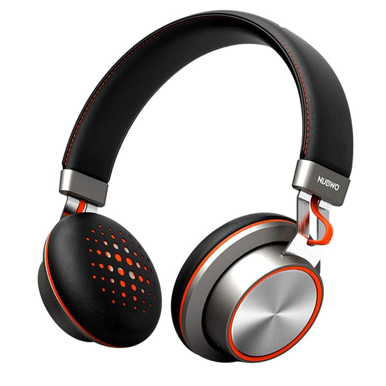 煙キャリア一定Bluetoothヘッドフォン、ワイヤレスステレオインターホンヘッドセット、ソフトプロテインイヤホン(ヘッドフォン:双方向ラジオ付き)