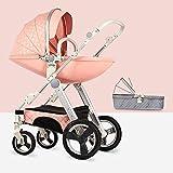 Staranddaisy Baby Egg Shell Baby Stroller (Pink)