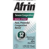Afrin Nasal Spray Severe Congestion 15 mL (Pack of 3)