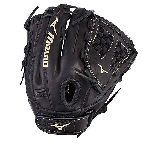 Mizuno Unisexs GMVP1250PF3 MVP Prime Fastpitch Softball Glove 125 Black Trident Web