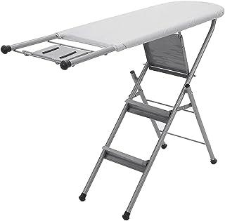 Siuber Planche à Repasser de Table avec Pieds pliants, spating Compact Sauvegarde des Planches de Fer Smart Hanger, Design...