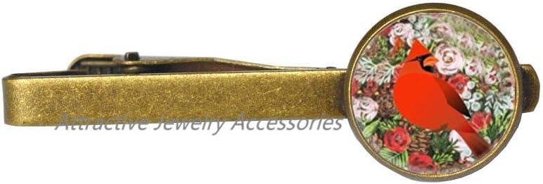 Wklo0avmg Cardinal Jewelry Max 72% OFF Bird Tie store Art Pin Wearable