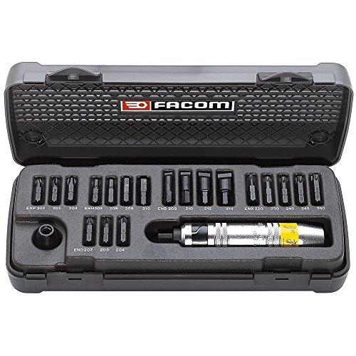 FACOM 1/2 Zoll Hand-Schlagschrauber Sortiment, 21 Teiligim Kasten, 1 Stück, NS.265M