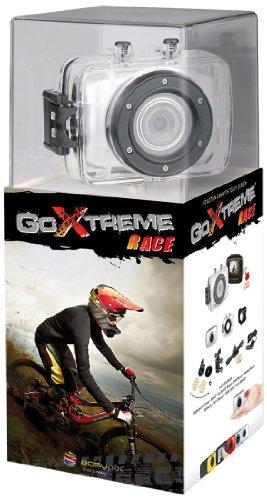 Easypix GoXtreme Race Action Cam (1,3 Megapixel Sensor, 4X dig. Zoom, 5,1 cm (2 Zoll) Touchscreen, USB 2.0) Silber