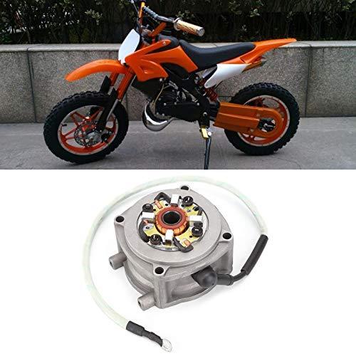 Arrancador eléctrico para motor de 49cc, 47CC 49CC Motor de arranque de 2 tiempos Arrancador de bicicleta de tierra Reemplazo del motor de arranque eléctrico