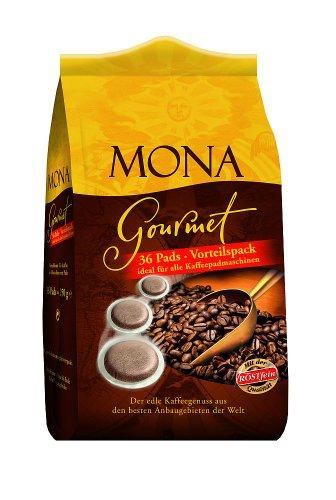 Röstfein Mona Gourmet 36 Pads, 5er Pack (5 x 250 g Packung)
