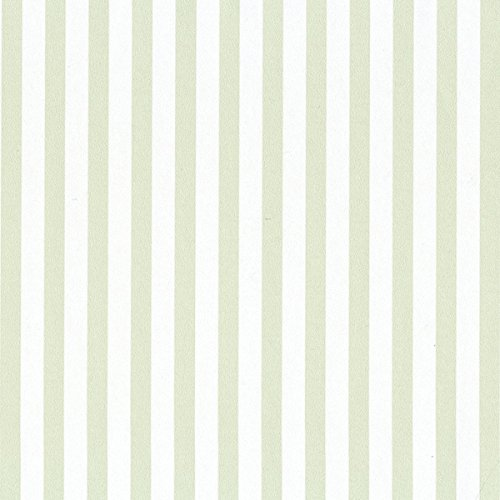SY33958 Galerie Stripes 2 green white narrow striped wallpaper