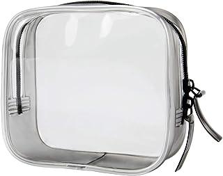STARMAX トラベルバッグ TSA承認済み 洗面用具入れ 透明化粧ポーチバッグ 多機能な収納バッグ 旅行出張用 小物整理 PVC防水素材トラベルトイレタリーバッグ ユニセックス 2点セット